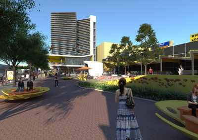 Brimbank Community Centre render by Scenery
