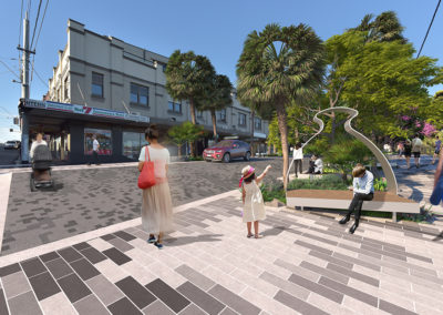 Cookson Street Activation render by Scenery