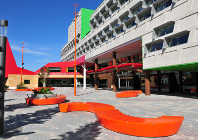 Dandenong Civic Community courtyard
