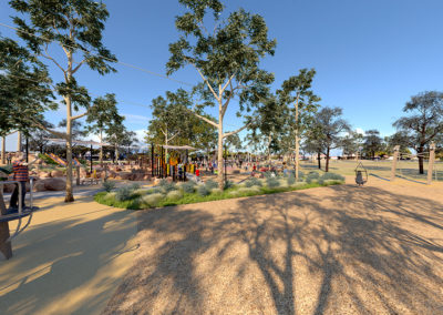 Hansen Reserve 3D render by Scenery