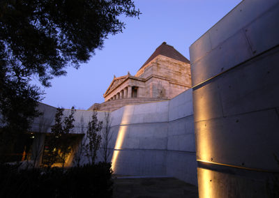 Shrine of Remembrance Melbourne night