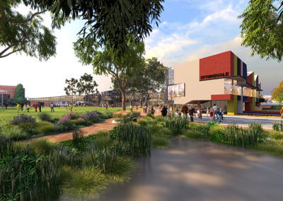 Springvale Community Precinct design concept