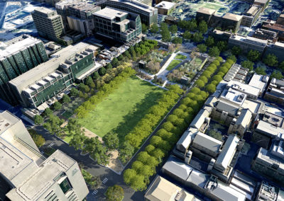 University Square Masterplan Visualisation render by Scenery