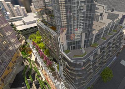 Westside Place concept design view 5